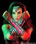 Wonder Woman Gal Gadot (w/inks)