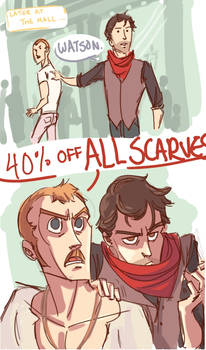 Holmes-Watson as Hipsters pt.2