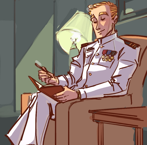 Commish7: Captain Kirk by ngoziu