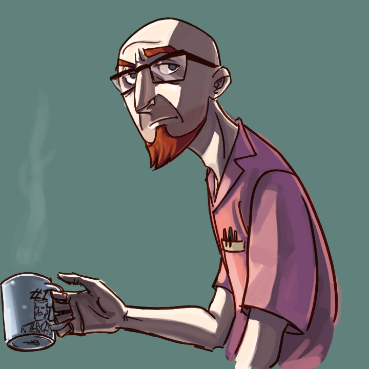 'After Daddy's coffee, Dean.' by ngoziu