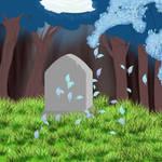 A legend's grave..