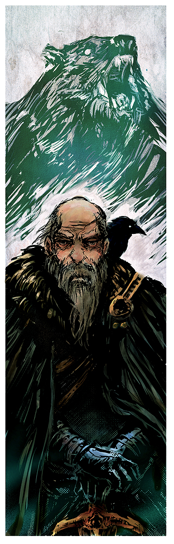 Old Bear Mormont by BGK-Bengiskhan