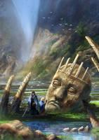 Humans and Gods by BGK-Bengiskhan