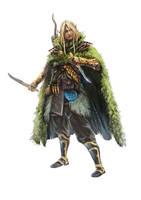 Heros et dragons - Ranger by BGK-Bengiskhan