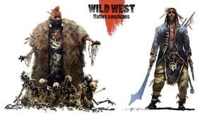 Wild west native americans