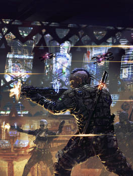 shadowrun : firing squad