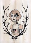 mona. by zombiepoptarts