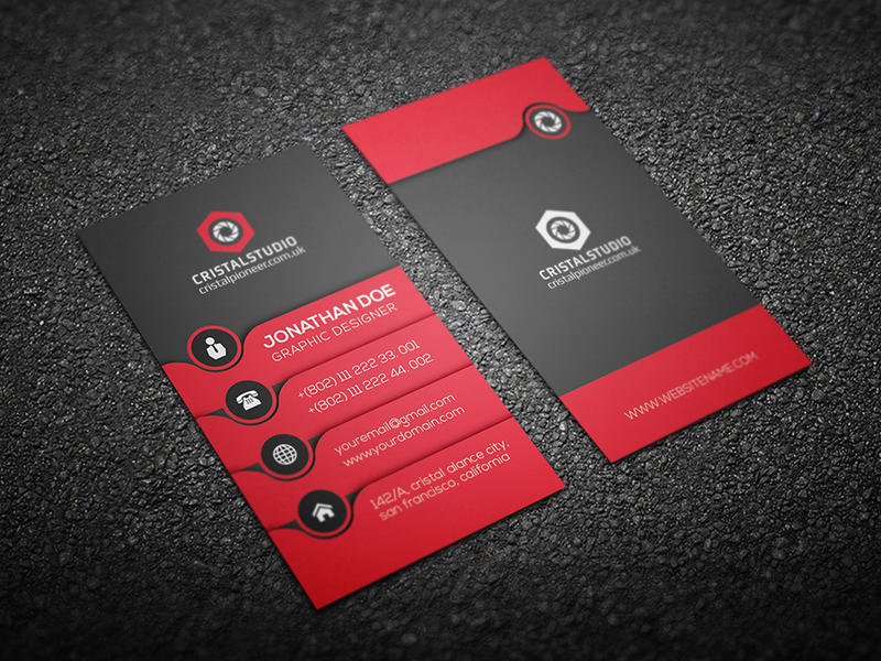 Business card template on graphicriver by cristalpioneer on deviantart business card template on graphicriver by cristalpioneer reheart Choice Image