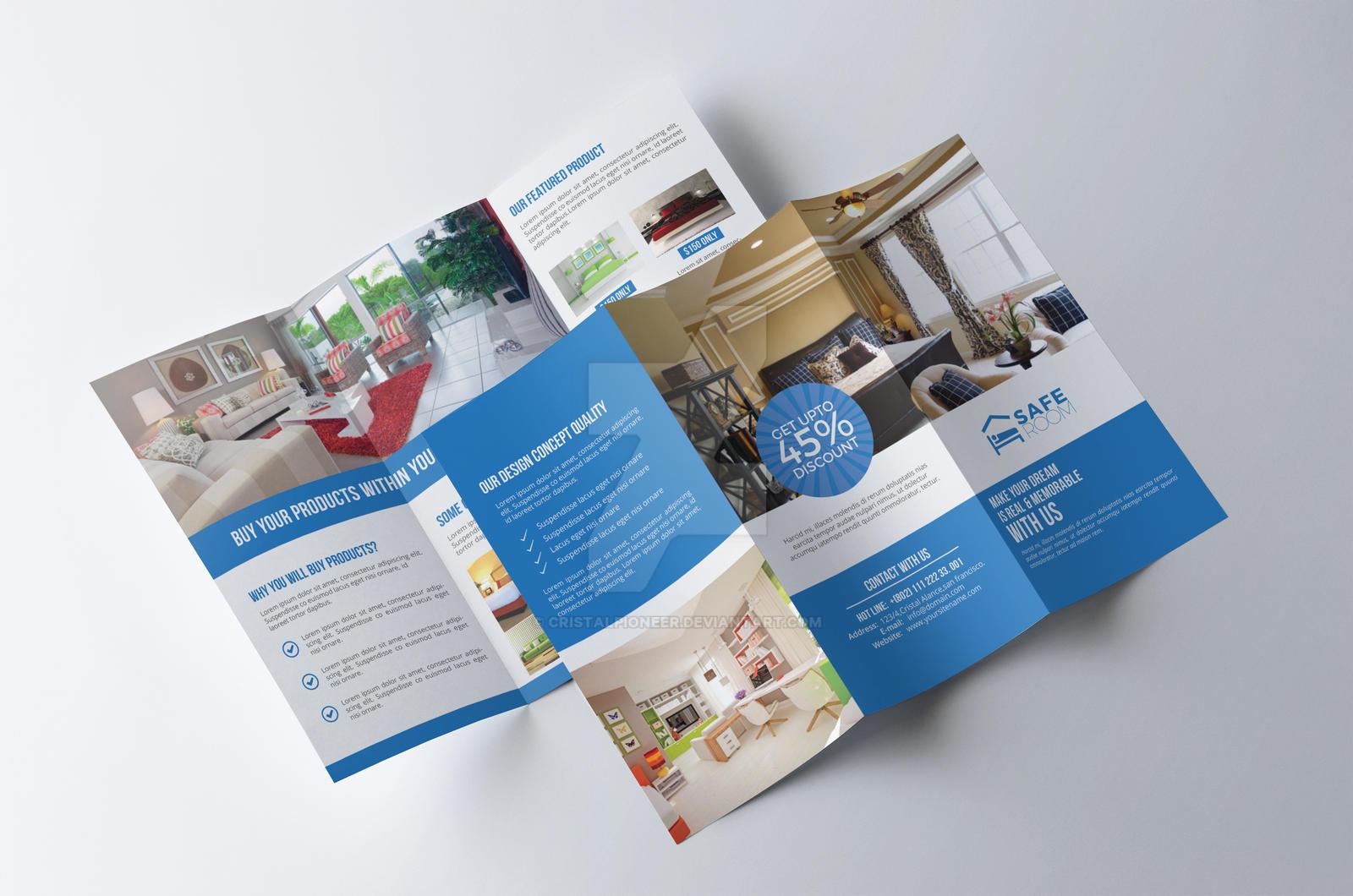 Interior tri fold brochure by cristalpioneer on deviantart for Interior brochure designs