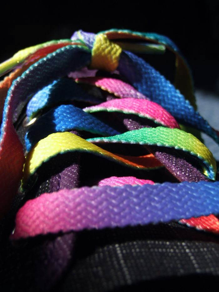 Rainbow Laces by Nyloria