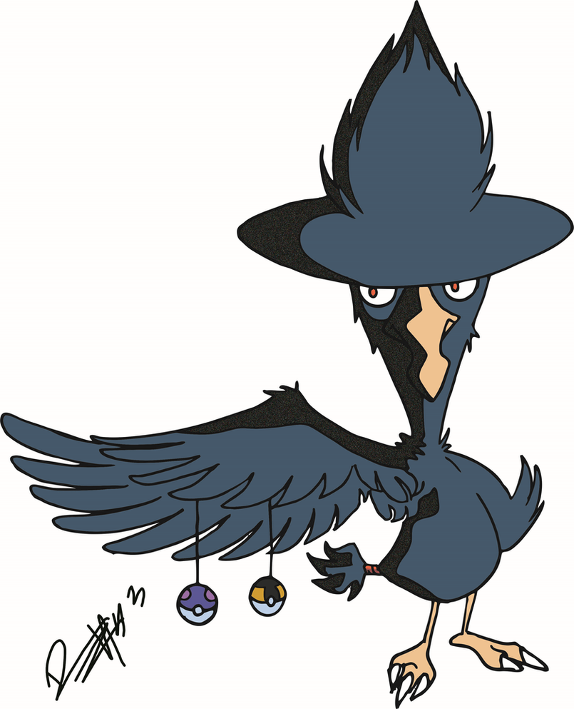 Murkrow by tterrr
