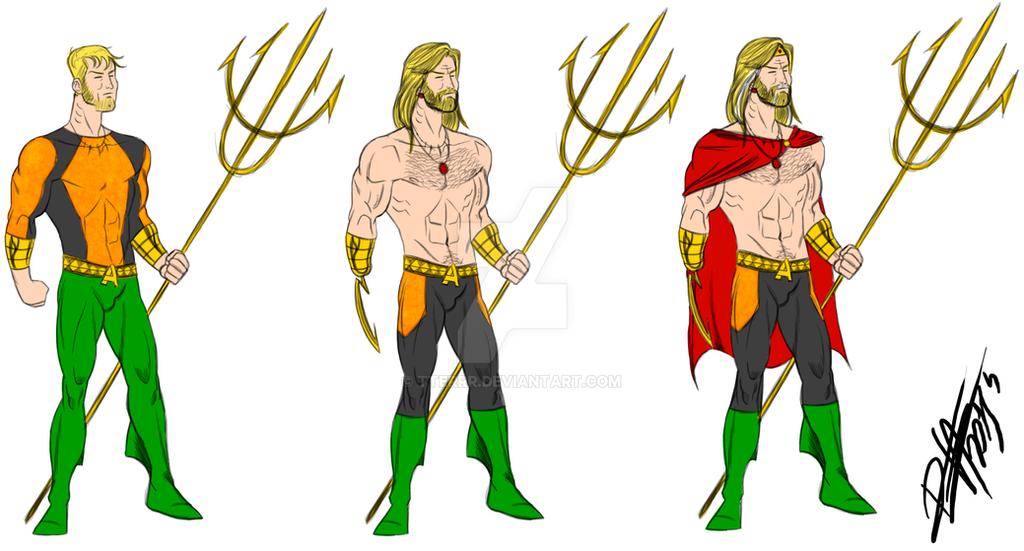 Aquaman Redesign by tterrr