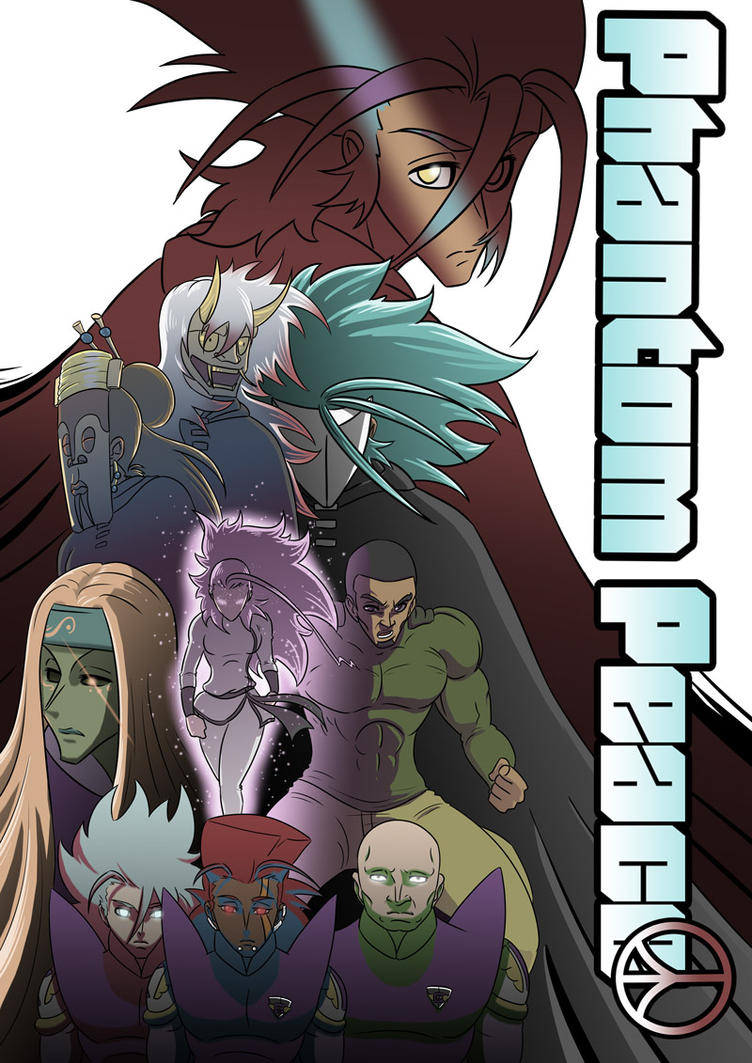 Phantom Peace official cover by PANICPHANTOMHEROES