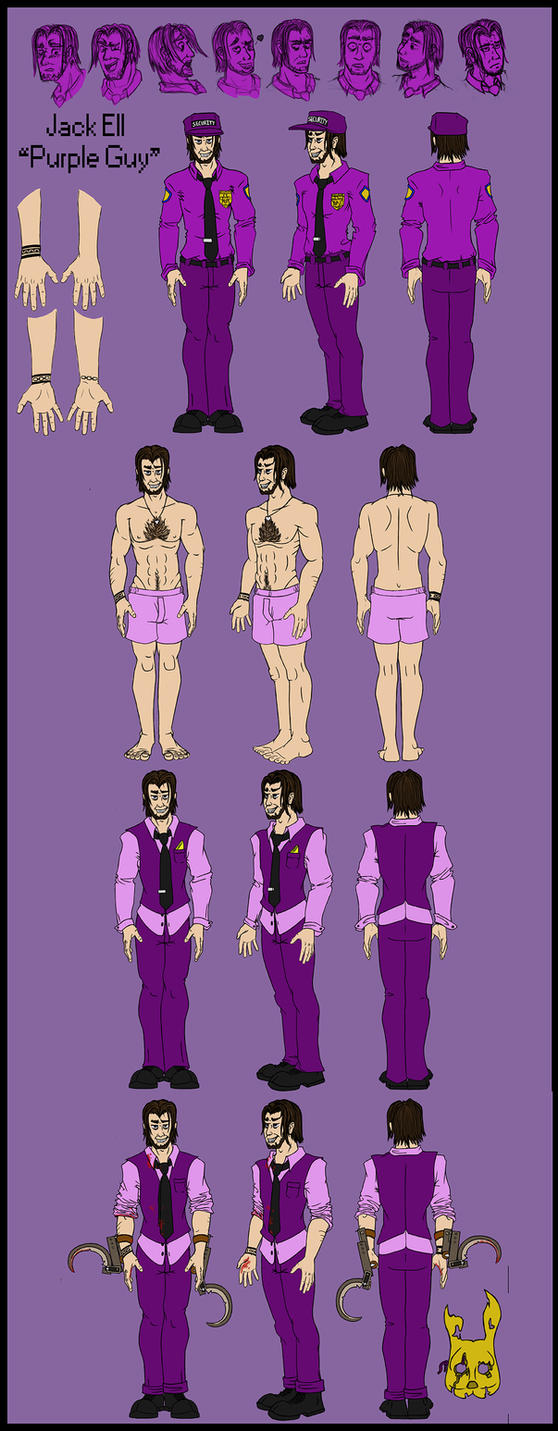 Purple Guy Jack Reference By Deadsomejack On Deviantart