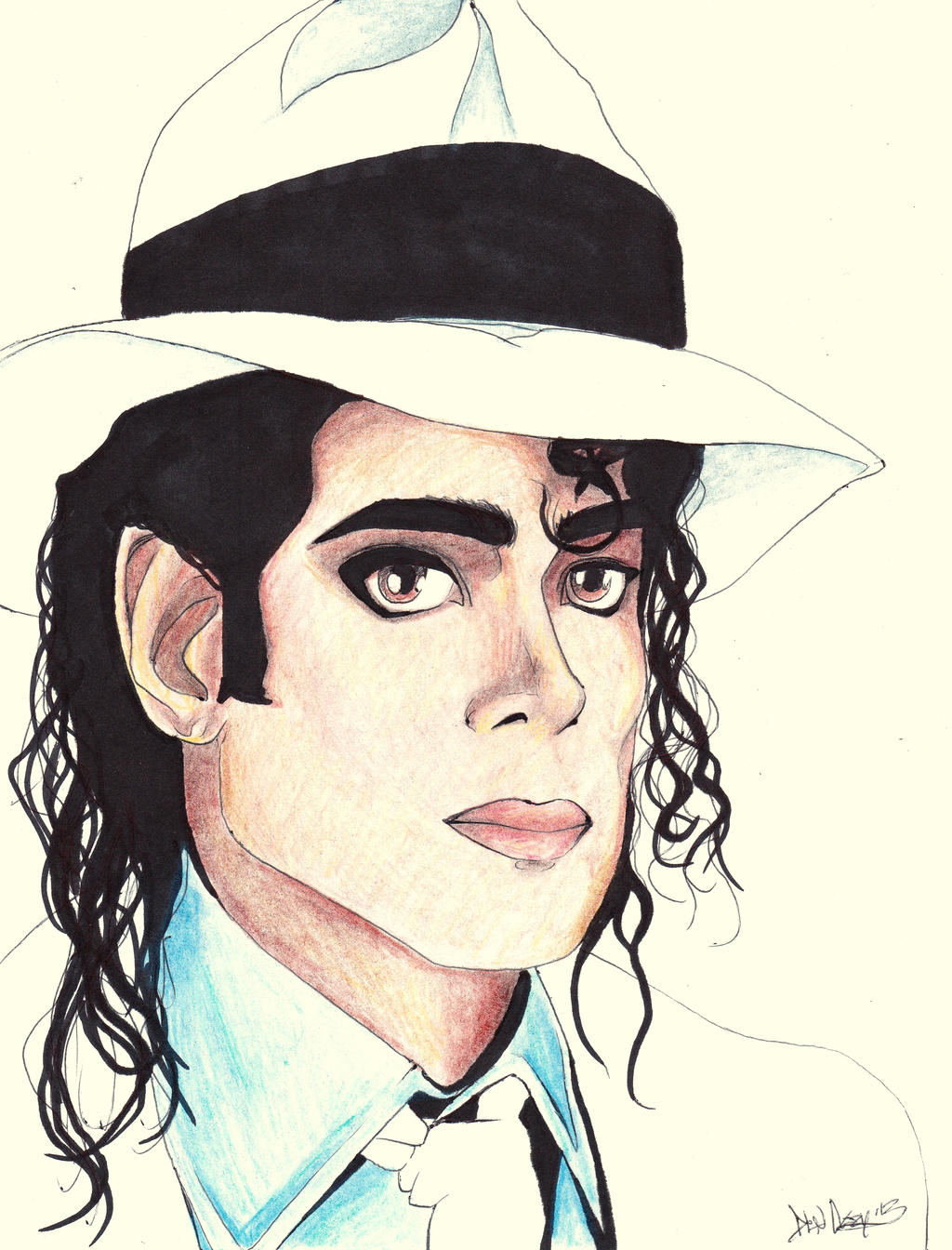 michael jackson sketch smooth - photo #29