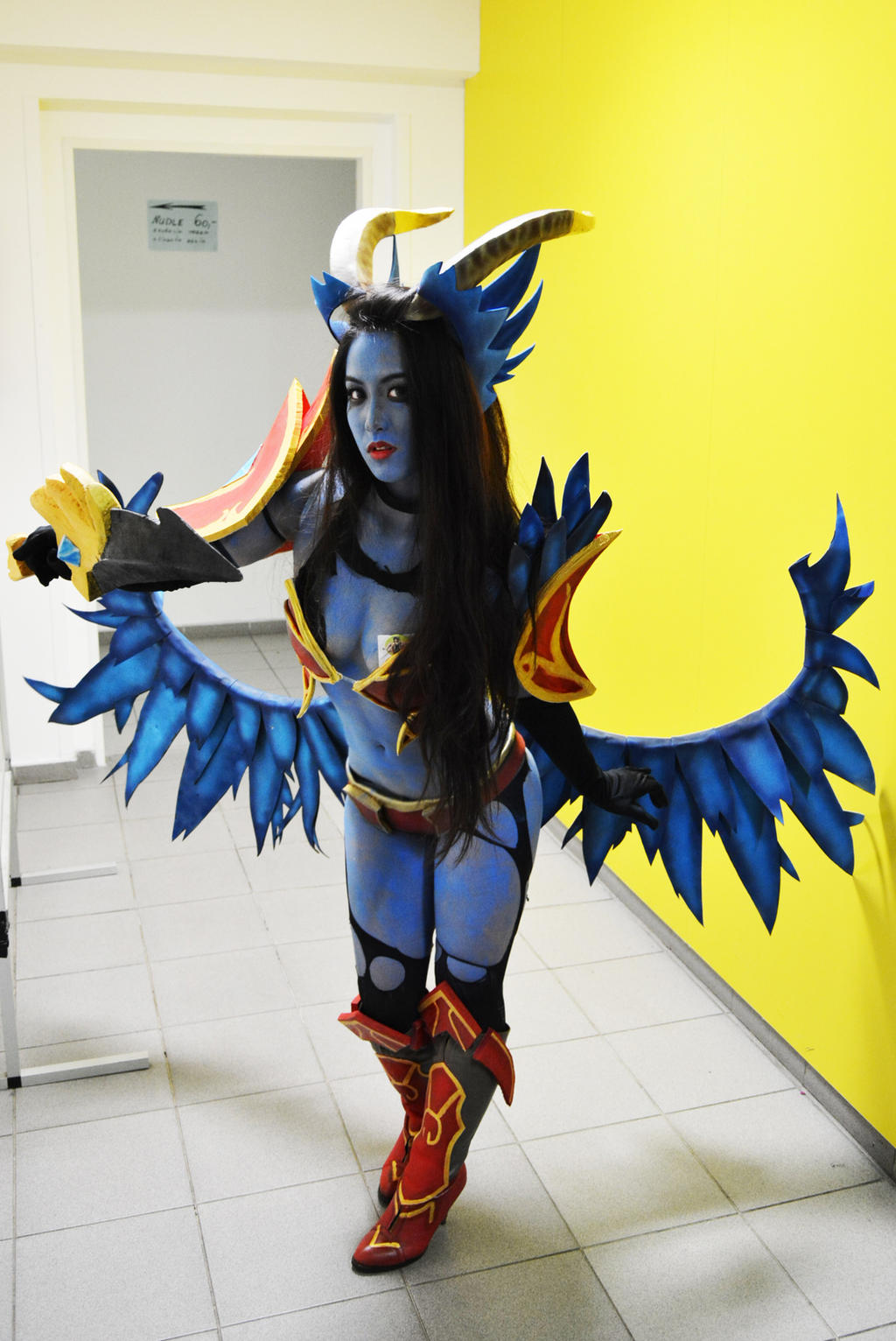 Dota 2 - Queen of Pain cosplay by TanakhTcosplayQueen Of Pain Dota 2 Cosplay
