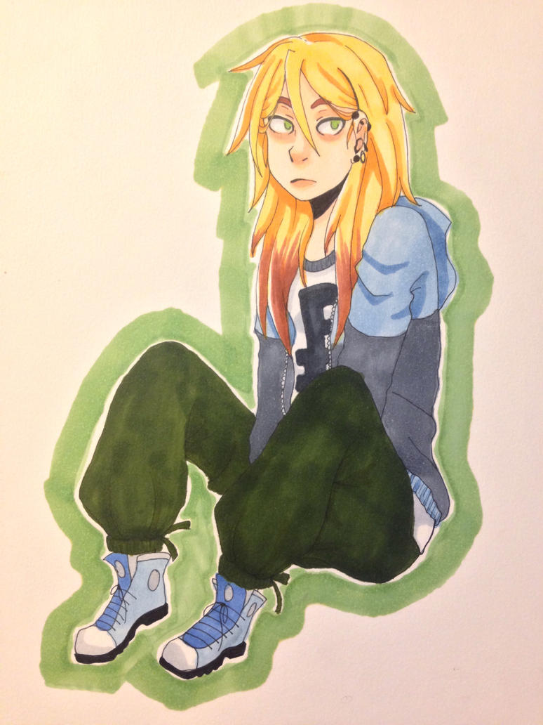 Clover in Copics by SorenBrian