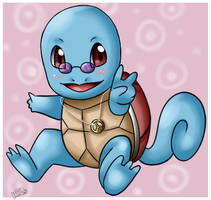 Hippy Squirtle by Sweetochii
