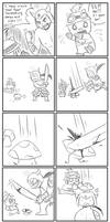 Teemo vs Tryndamere by Sweetochii