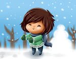 Snow by Sweetochii