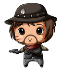 Red Dead Redemption- Chibi Marston by Sweetochii