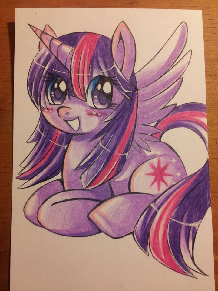 MLP FIM: Twilight Sparkles by Sweetochii