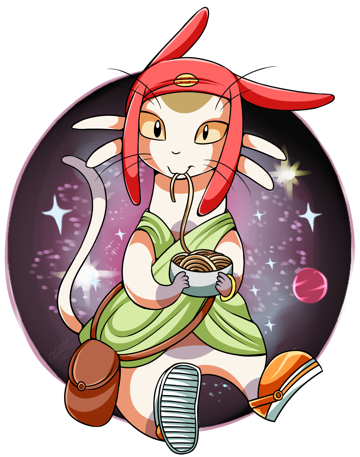 Meow space dandy