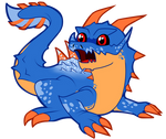 Fanart- Monster Hunter- Chibi Lagiacrus