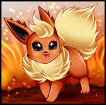 Fan Art- Flareon