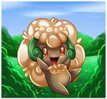 Pokemon- Whimsicott by Sweetochii