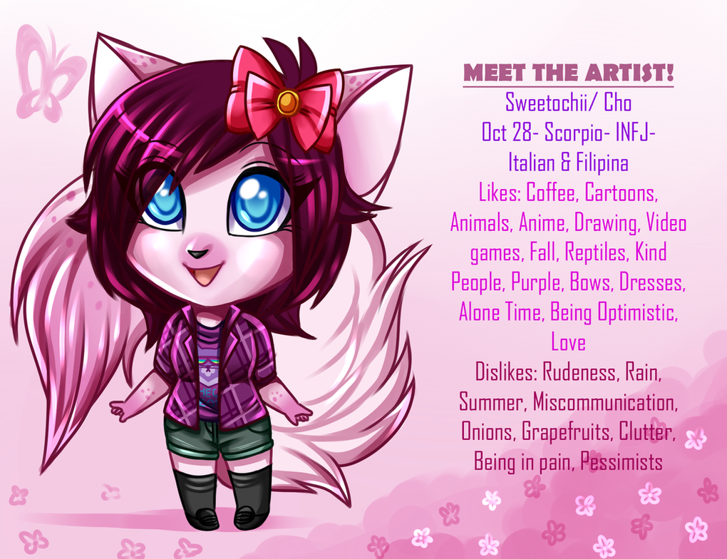 Meet The Artist by Sweetochii