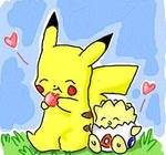 PIKACHU AND TOGEPI