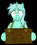 Lyra With A Sign