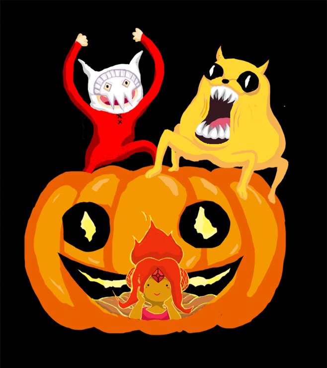 Adventure time] Happy Halloween by candy2007 on DeviantArt