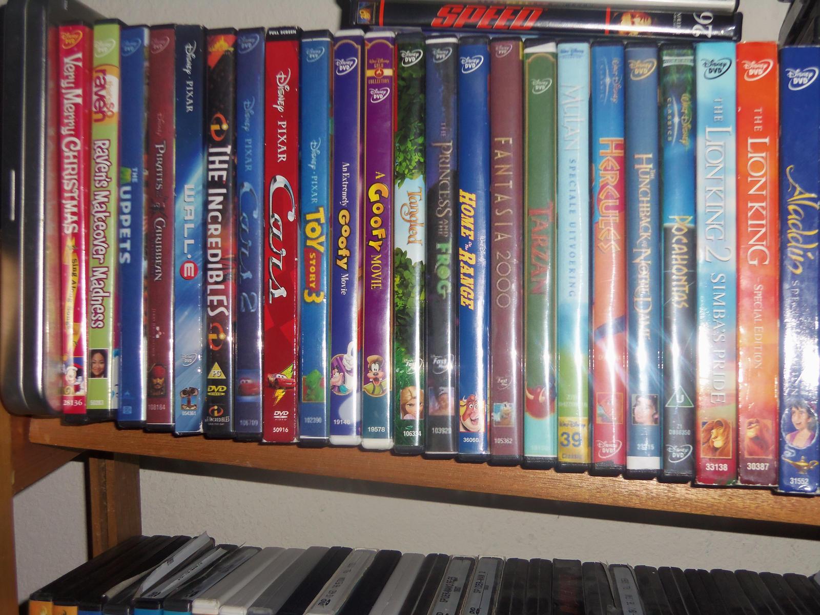 Disney Dvd Collection So Far 2 3 By Bvw1979 On Deviantart