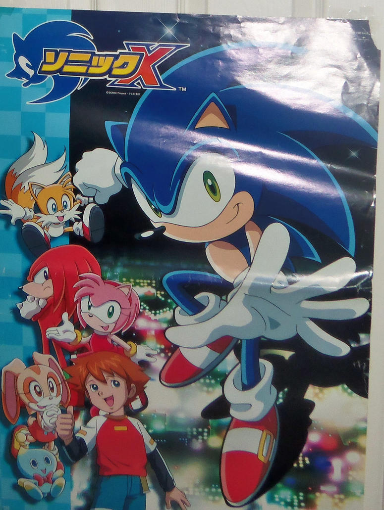 Fotos Do Sonic X throughout japanese sonic x posterbvw1979 on deviantart