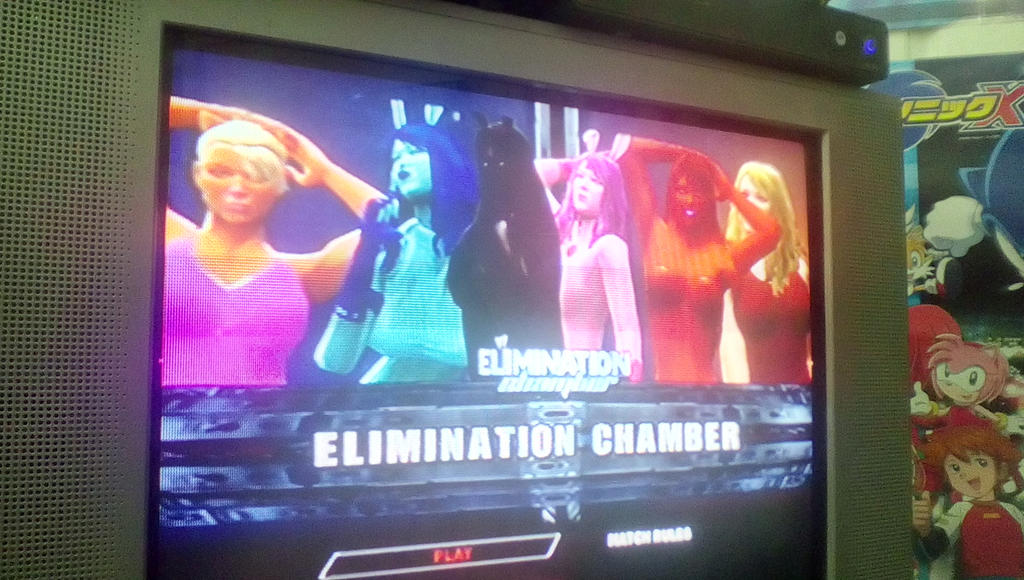 slime girls are in WWE 2K14 by bvw1979
