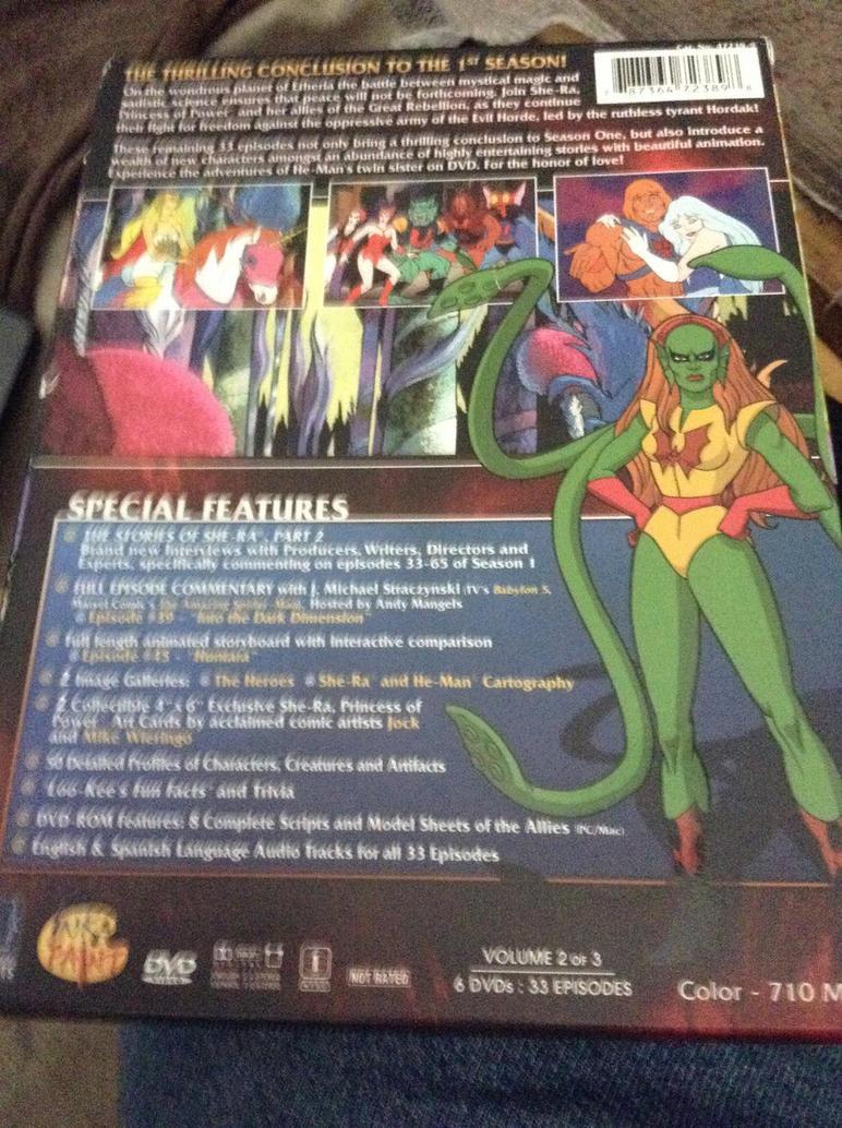 Got She-Ra season 1 Vol.2 today 2/2 by bvw1979