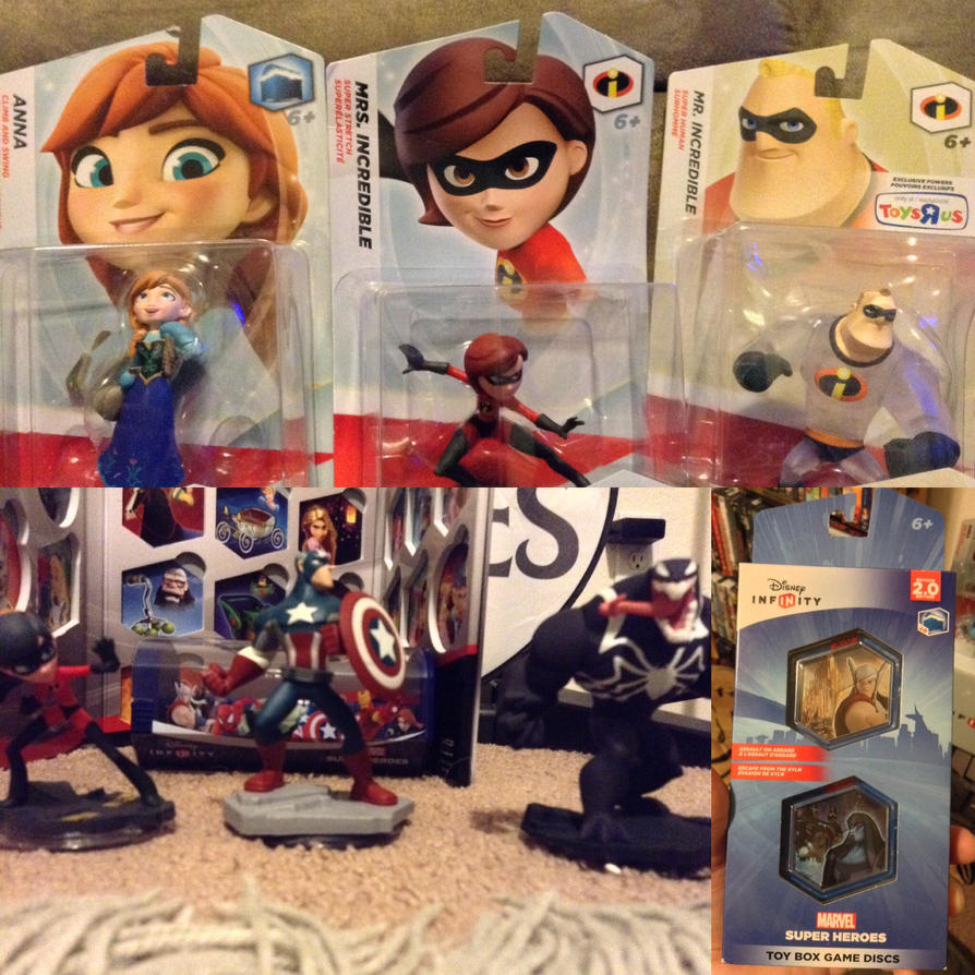 New Disney Infinity figures and more by bvw1979