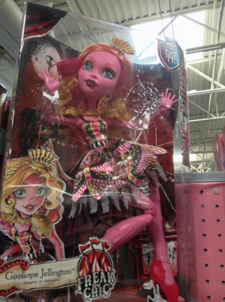 Looks like monster high has a Goo/slimegirl now by bvw1979