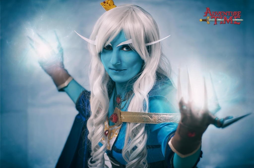 Adventure Time: Ice Magic by Aster-Hime