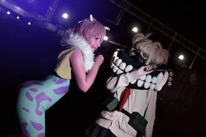 Mina vs Toga by Aster-Hime