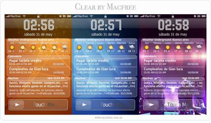 IntelliScreen Skin Theme Clear by Macfree