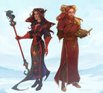 Leraxia and Jeriah [C]