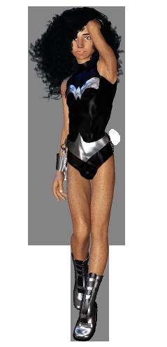 Wonder Boy costume with bare legs by kiwihobbit
