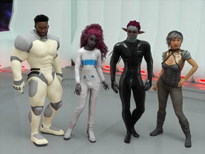 The Crew of the Solace