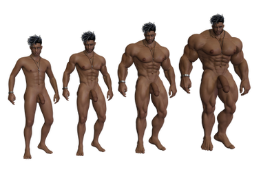 Colt Muscle Growth by AlleyKatArt