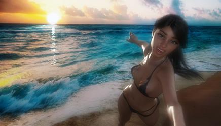 Dita Beach POV
