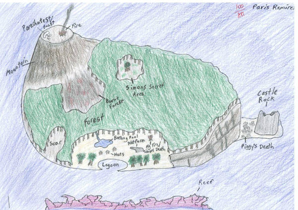 Lord Of The Flies Map Of The Island Quotes