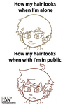 Why Hair? Why? by Marios-Tri4ce